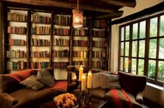 Cozy Home Library - Bing Images