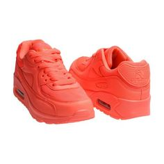 Pomarańczowe buty damskie sportowe RAPTER B726