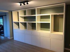 Modern Kitchen Design, Storage Spaces, Shelving, Bookcase, Decoration, Living Room, Architecture, Showroom, Interior
