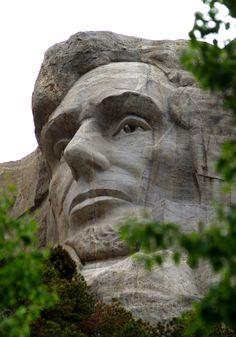Abraham Lincoln / Mount Rushmore / South Dakota