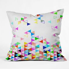 Fimbis Falling Into Place Throw Pillow | DENY Designs Home Accessories