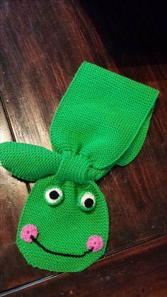 Fröschles-Schal fürs Nichtchen