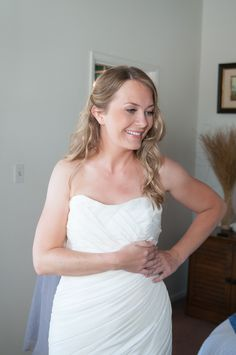 soft, beachy and casual for an outdoor summer wedding