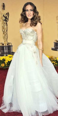 Sarah Jessica Parker's 25 Most Memorable Looks Ever - Dior Haute Couture, 2009 from #InStyle