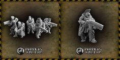 New releases. I know some of You have waited for them for a long time...   https://puppetswar.eu/product.php?id_product=628 set of five Praetorian Strikers   https://puppetswar.eu/product.php?id_product=627 Set of twenty Praetorian strikers   https://puppetswar.eu/product.php?id_product=629 Praetorian Strike armours