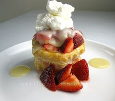 cheese frosting chocolate cream cheese cupcakes strawberry napoleons ...