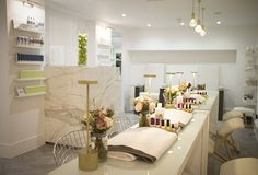 Gentlemans manicure & pedicure at Nails & Brows. A luxury nail & brow boutique on Berkeley Street, near the corner of Berkeley Square in London's Mayfair