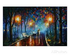 Leonid Afremov - Misty Mood Of Afremov