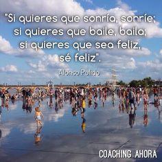 ¿Qué quisiera inspirar en los demás a través de mis propias acciones?   Fuente frase: 'Amor y Humor en la Educación' de Alonso Pulido (vía Hablemos de Talento)  facebook.com/CoachingAhora