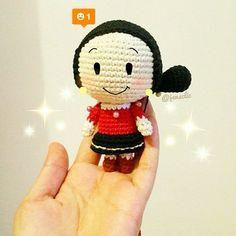 Crochet Pattern Popeye Doll : popeye and olive amigurumi dolls Crochet Pinterest ...