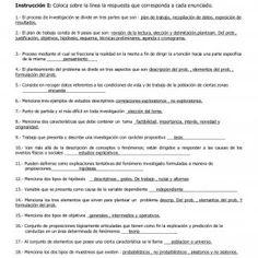 Examen de Metodología de la Investigación. FINAL / 3º Bach / Junio 2014. Nombre del alumno(a):_________________________________Fecha:_______________ Reactiv. http://slidehot.com/resources/examen-metodos-de-inv.65832/