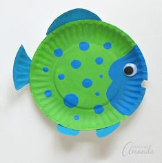 # # Related posts: Ocean crafts and activities Easy and Fun Summer Activities for Toddlers Brilliant Bundles: Fish Crafts and Activities for an Ocean Theme – Preschool (CD… Rainbow fish activities for early years Paper Plate Fish, Paper Plate Animals, Paper Plates, St Patrick Day Activities, Craft Activities For Kids, Preschool Crafts, Outdoor Activities, Physical Activities, Exercise Activities