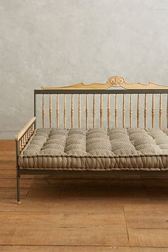 Vtg Hollywood Regency Iron Trellis Roses Twin King Headboards Daybed Patio And