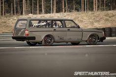 Intercontimental Missile: Volvo V8 Wagon Of Fun   Speedhunters