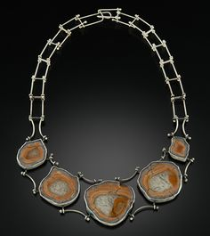 Lake Superior Agate Suite, Sterling Silver$2,600