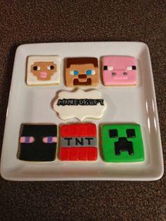 Janis Bakes: Minecraft