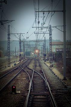 Train Car, Train Tracks, Choo Choo Train, Background Images Hd, Light Rail, City Landscape, The Old Days, Locomotive, Railroad Tracks