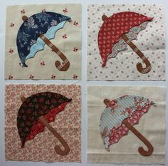 umbrella appliques