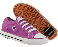 """After asking probably 300 times, """"do you think they have those roller skate shoes for adults?,"""" I finally got around to looking it up and YES THEY DO AND THEY ARE PURPLE AND I NEED THEM."""
