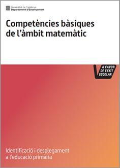 Competències bàsiques de l'àmbit matemàtic. Educació primària