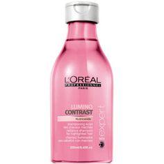 Resenha: Shampoo Lumino Contrast da L'Oreal professionnel   Química dos Cabelos