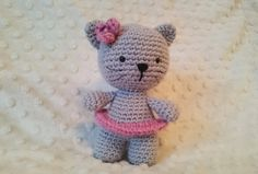 Crochet amigurumi cat by CrochetAga on Etsy