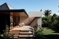 Number 5 House is part of a classic Kiwi encampment designed primarily for the summertime.