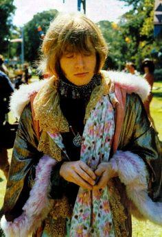 Brian Jones in his finery at Monterey Po(m)p, June 1967 ...