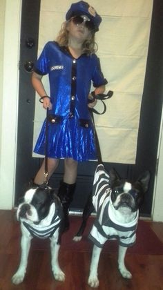 Boston Terrier Costume - Prisoners