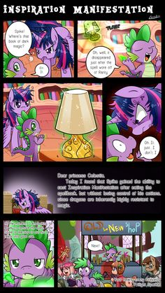 Inspiration Manifestation by vavacung  Love the purple picture y that looks like spike