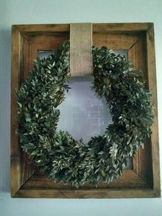 Check out this item in my Etsy shop https://www.etsy.com/uk/listing/545006725/farmhouse-boxwood-wreath-on-rustic