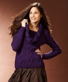 Ladies' Cable Sweater