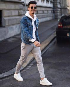 Amazing Useful Ideas: Classy Urban Fashion Diamonds urban fashion casual hats.Urban Fashion Edgy Outfit urban wear for men streetwear. White Sneakers Outfit, Sneakers Fashion, Women's Sneakers, Mens White Sneakers, Leather Sneakers, Sneakers Sale, Dope Fashion, Mens Fashion Suits, Hipster Outfits Men