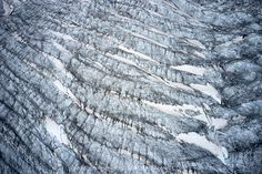 Aletsch Glacier Surface The glacier is full of surprises a natural show, different every time in shape, color and nuance. Jungfraujoch, More Images, Outdoor Photography, Fine Art Prints, Shapes, Nature, Surface, Mountain, Color