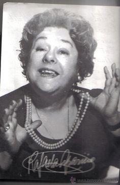 Rafaela Aparicio (todo colección ) actriz nacida en Marbella (Málaga) 1906-1996