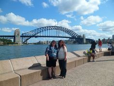 March 2012 Jo and her sister Theresa in Sydney