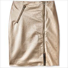 Spring Fashion Trends — Warm-Weather Leather: Supertrash Skirt