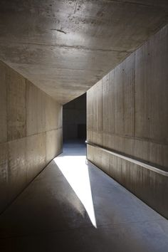 Concrete and beautiful light