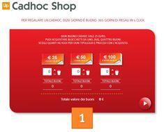 CadhocShop, conviene ancora di più acquistare voucher Cadhoc online!