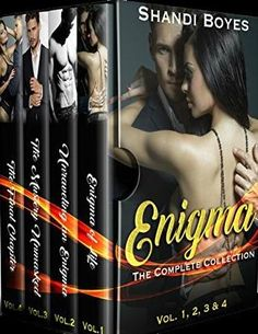 ~ ♦ ~ ♦ ~ ♦ ~ BOOK SPOTLIGHT ~ ♦ ~ ♦ ~ ♦ ~ Enigma the Complete Set by Shandi Boyes BUY NOW - http://amzn.to/2w9EhgI Hosted by Itsy Bitsy Book Bits