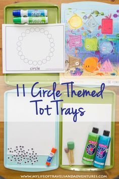 Circle Themed Tot School