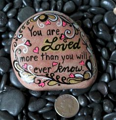 Nice 87 Best Painted Rock Art Ideas with Quotes You Can Do https://besideroom.com/2017/08/18/best-painted-rock-art-ideas-with-quotes-you-can-do/