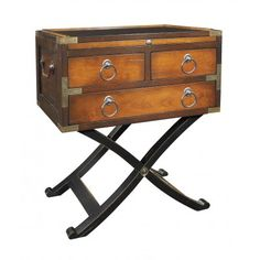 Bombay Box, Two-Tone Honey - Bedside Table   Interiors Online - Furniture Online & Decorating Accessories
