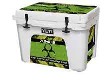 24Mil L+I Skin Wrap Decal YETI ROADIE 20QT Cooler Ice Chest  ZOMBIE HUNTING