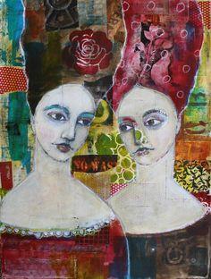 LIMITED print by  gritty jane spakowsky talking by janespakowsky, $100.00