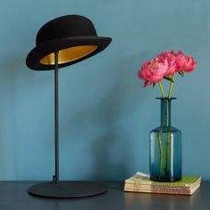 Quirky Jeeves hat design table lamp, from Graham and Green