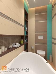Интерьер ванной комнаты Toilet Design, Brown Bathroom, Showroom, Home Furniture, Home And Garden, New Homes, Bathtub, House Design, Bedrooms