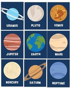 Solar System Planets Wall Decor // Planets Wall door LittlePergola