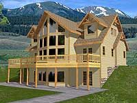 1000 images about lake house on pinterest basement for Lake house plans for steep lots