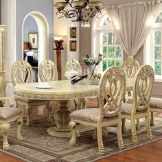 9 Piece Dining Room Table Sets | Few Piece Dining Room Set ...